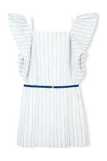 CHLOE Cotton stripe dress