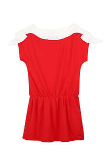 CHLOE Bow sleeve jersey dress 4-14 years