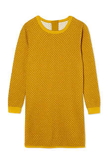 CHLOE Polka-dot wool-blend dress 4-14 years