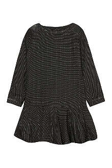 CHLOE Dotted leather shoulder dress 4-14 years