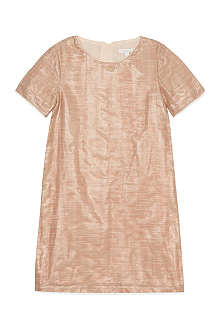 CHLOE Shiny cotton shift dress 4-14 years