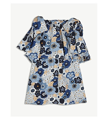 CHLOE Floral cotton dress 4-14 years (Floral