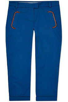 CHLOE Trim detail slim trousers 4-14 years