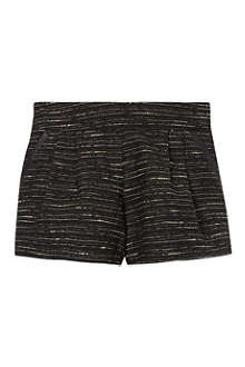 CHLOE Tweed leather shorts 4-14 years