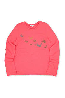 CHLOE Bird-print long-sleeved top 10-14 years