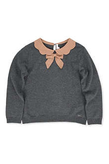 CHLOE Scalloped-collar jumper 4-8 years