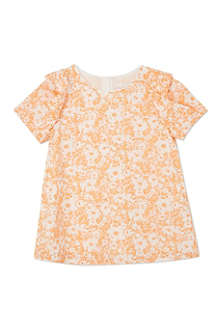 CHLOE Origami floral top 4-14 years