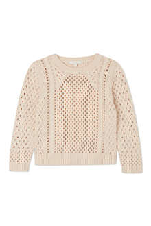 CHLOE Cable knit jumper 4-14 years