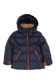 CHLOE Hooded padded jacket 4-14 years