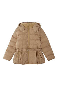 CHLOE Puffer jacket with belt 4-14 years