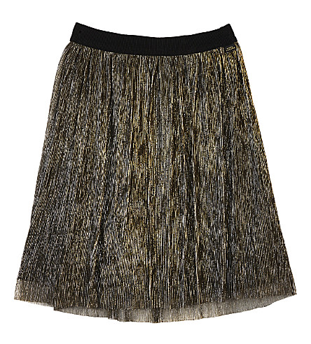 LITTLE MARC Tulle glitter skirt 4-14 years (Gold