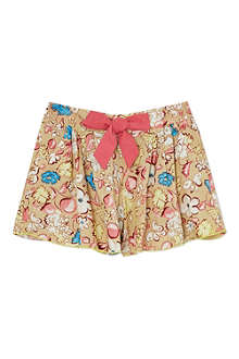 LITTLE MARC Floral print shorts 4-12 years