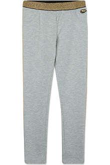 LITTLE MARC Metallic waist trousers 4-14 years