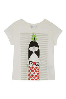 LITTLE MARC Love frogs t-shirt 4-12 years