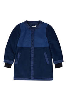 LITTLE MARC Satin detail peacoat 4-12 years