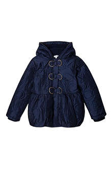 LITTLE MARC Embroidered puffer jacket 4-14 years