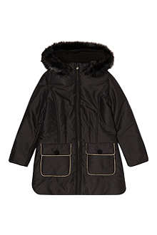 LITTLE MARC Piped puffer jacket 6-14 years