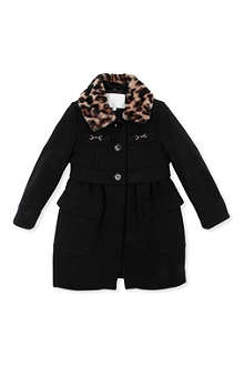 GUCCI Jaguar-collar coat 4-12 years