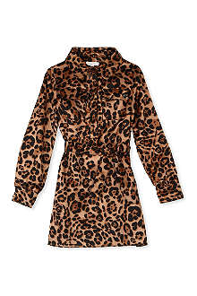 GUCCI Leopard shirt dress 4-12 years