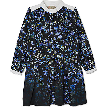 PREEN Blue Flower pearl dress 2-8 years (Blue