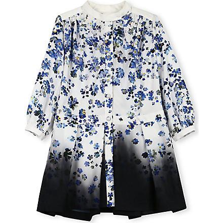 PREEN Dip-dye floral dress 2-8 years (White