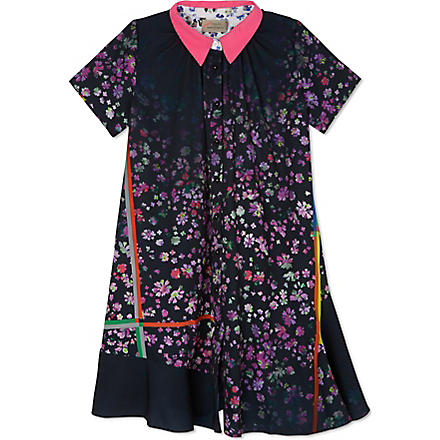 PREEN Floral-print shirt dress 2-8 years (Pink