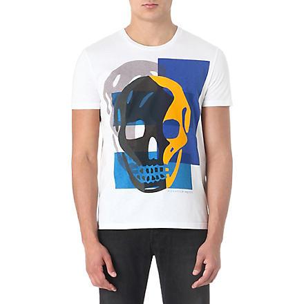 ALEXANDER MCQUEEN Skull t-shirt (White