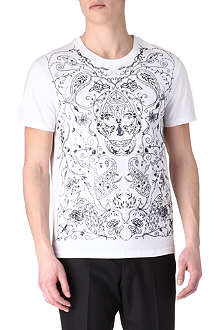 ALEXANDER MCQUEEN Embroidered t-shirt