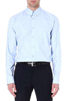 ALEXANDER MCQUEEN Skull jacquard cotton shirt