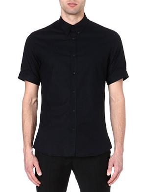 ALEXANDER MCQUEEN Brad Pitt stretch-cotton shirt