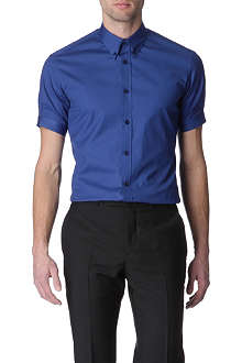 ALEXANDER MCQUEEN Button-down collar slim fit shirt