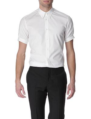 ALEXANDER MCQUEEN Button-down collar slim fit shirt