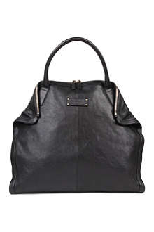 ALEXANDER MCQUEEN Leather shopper bag