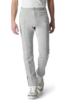 ALEXANDER MCQUEEN Contrast-colour jogging bottoms