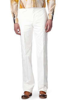 ALEXANDER MCQUEEN Cotton trousers