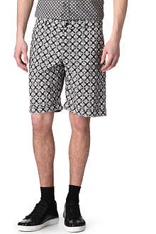 ALEXANDER MCQUEEN Grand Tile printed shorts