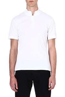 ALEXANDER MCQUEEN Stand-collar polo shirt