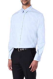 ALEXANDER MCQUEEN Double-collar single-cuff shirt