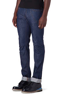 ALEXANDER MCQUEEN Slim-fit straight harness jeans