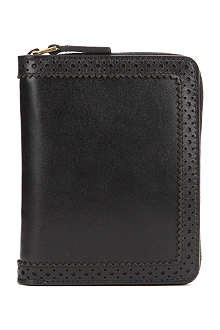 ALEXANDER MCQUEEN Perforated trim wallet