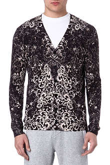 ALEXANDER MCQUEEN Patterned cardigan