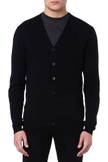 ALEXANDER MCQUEEN Elbow-patch cardigan