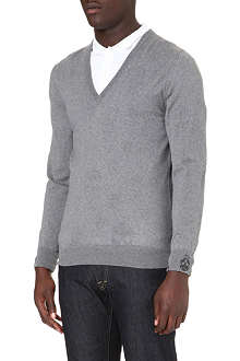 ALEXANDER MCQUEEN Skull-detailed jumper
