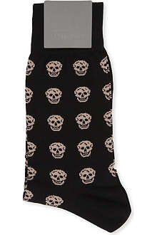ALEXANDER MCQUEEN Skull-patterned socks