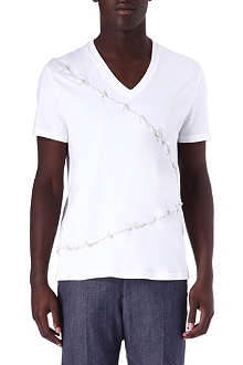 ALEXANDER MCQUEEN Barbed wire t-shirt