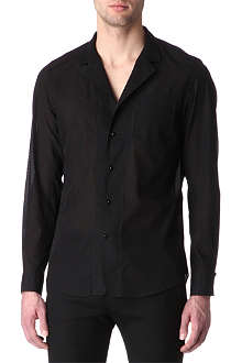 ALEXANDER MCQUEEN Voile striped shirt