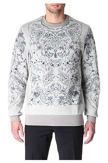 ALEXANDER MCQUEEN Embroidered jumper
