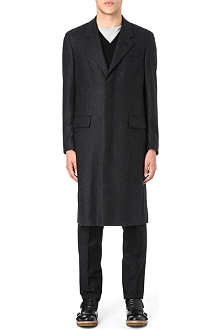 ALEXANDER MCQUEEN Single-breasted cashmere coat