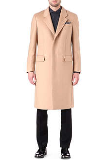 ALEXANDER MCQUEEN Three-button cashmere coat