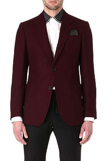 ALEXANDER MCQUEEN Patch-pocket blazer
